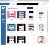 cobra News & Mail Service Layout Vorlagen