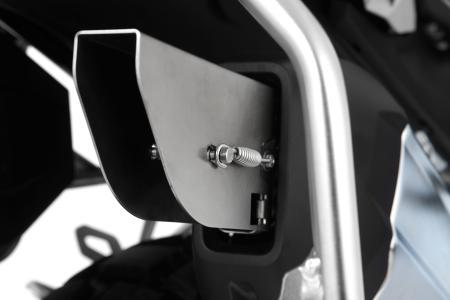 Der Auspuff Deflektor »GONZZOO« sorgt für eine signifikante Lärmreduzierung auf Kopfhöhe von Fahrer und Beifahrer und minimiert das häufig als unangenehm empfundene Dröhnen der GS