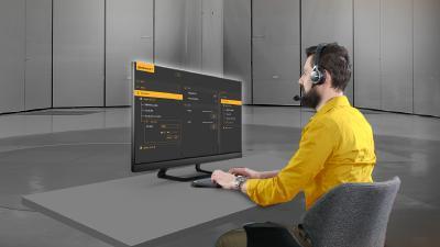 Continental Pedestrian Simulator Panel Operator