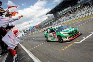 Klassensieg für den Civic Type R TCR
