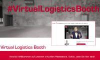Virtueller Logistik-Messestand