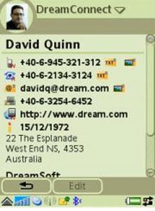 Screenshot DreamConnect