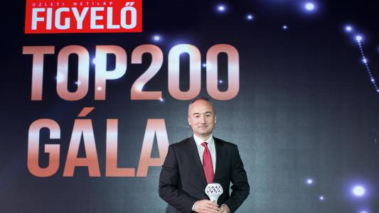 """Employees and management of our company have done a lot to raise the reputation of Hungarian engineering sciences in the world and helped our economy and local communities to flourish,"" said András Sávos, Managing Director of Knorr-Bremse Budapest, at the Figyelő TOP200 ceremony 