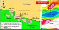 Maple Gold begins fall discovery exploration program; initial drilling to test northeast IP target