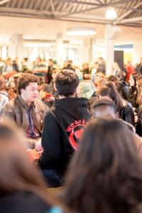 """EXPEDITION STUDIUM"": Großer Andrang auf Studieninfotag / Foto: Hochschule Bremen / Sabrina Peters"