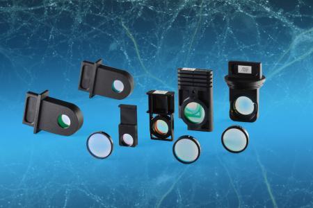 Optische Filter für die Durchflusszytometrie