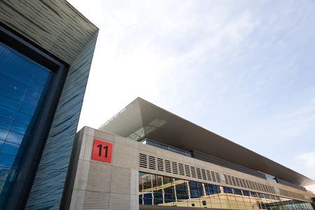 Die neue Halle 11 der Frankfurter Messe (07/2009)