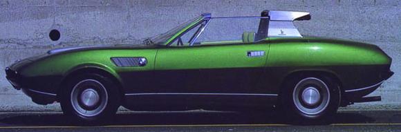 Concorso d'Eleganza Villa d'Este 2009: BMW 2800 Spicup, Coupé, 1969, Besitzer Roland d'Ieteren (Quelle Carrozzerie Bertone)