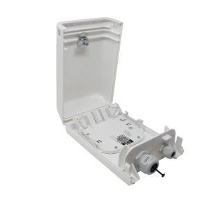 Das kompakte BELUGA XS Gehäuse bietet Platz für bis zu 72 Spleiße oder 12 LCAPC-Steckverbindungen bzw. 6 E2000- oder SC-Kupplungen.