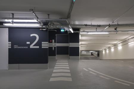 Der Boden der Tiefgarage erhielt den befahrbaren Betonschutz OS 11b von Remmers. Bildquelle: Remmers Fachplanung/Anton Schedlbauer, München