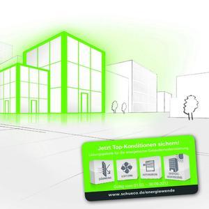 Das Energiewende-Package von Schüco bietet Architekten und Planern aufeinander abgestimmte Produktlösungen, die aus Energiefressern solare Gebäudekraftwerke machen.