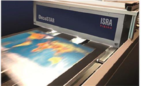 100 % Druckinspektion von bedruckten Metalltafeln mit DecoSTAR