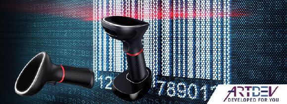 ARTDEV AS-1350 und AS-3350 Barcodescanner