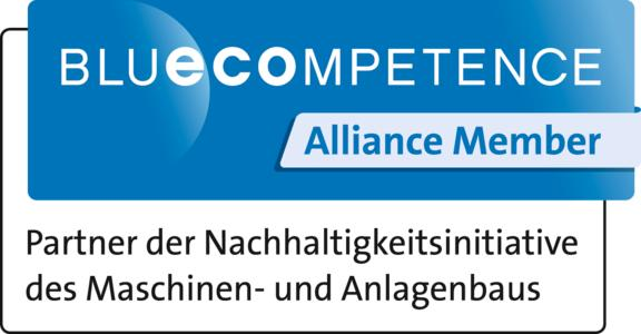 Blue Competence Logo VDMA