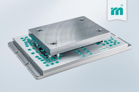 H 3000 – Das innovative Spannsystem für den Stanzwerkzeugbau (Foto: Meusburger)