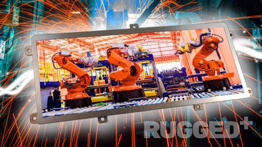 Distec bietet TFT-Displays der ausgesprochen robusten und widerstandsfähigen Rugged-Serie von KOE, Bildquelle/Copyright: KOE