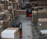 Automatische Protokollierung aller Palettentransporte im Lager