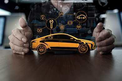 Die cloudbasierte Service-Plattform vAnalytics stellt Autohändlern und Werkstätten sowie Fahrern mobilitätsbezogene Dienste zur Verfügung. Foto: Continental