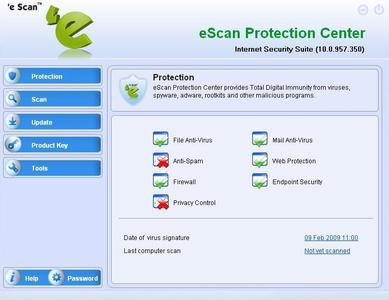 eScan Protection Center