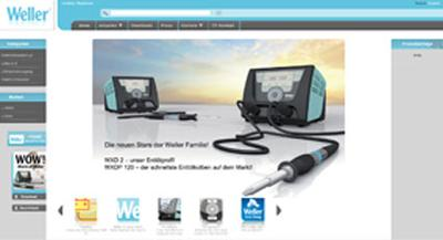 Welcome to our new redesigned website www.weller-tools.com invites you to explore the World of Weller