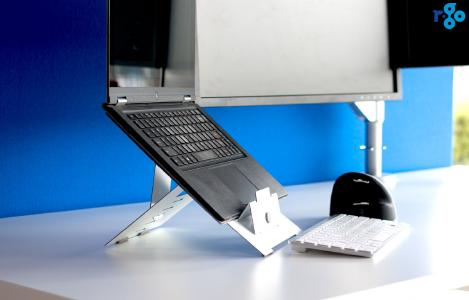 R-Go Riser, höhenverstellbarer Laptop Ständer