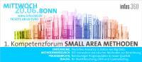 1. Kompetenzforum SMALL AREA METHODEN 20.06.2018 in Bonn ab 69 Euro