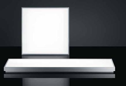 The Light Fields luminaire series is now available with LED technology incorporated. A high-quality aluminium frame and a transparent PMMA diffuser ensure a brilliant appearance, with the luminaires barely prone to soiling