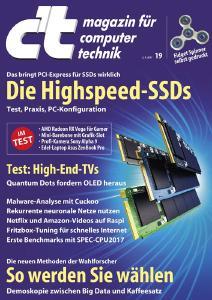 Turbo-Festplatten: Sieben superschnelle SSDs im Test
