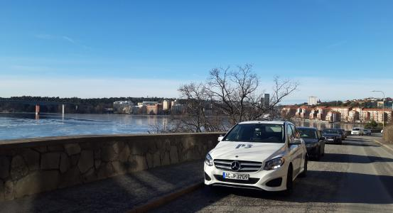 Drive test car for the P3 connect Mobile Benchmark in Sweden 2019