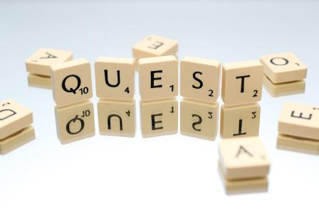 Quest is a search...