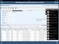 Oracle JD Edwards EnterpriseOne iPad Application