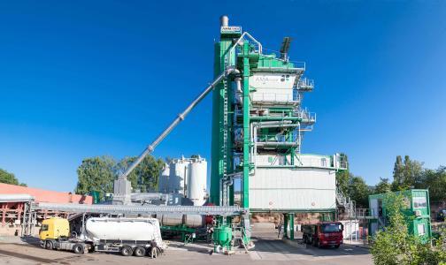 2017 hat die dittgen GmbH ein komplett neues Asphaltwerk errichtet