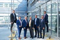 v. l. n. r.: Robert Kreß, Alexander Weiss, Dieter Straub (Vorsitzender), Ralf Schmidt, Christian Ott, Marcus Herwarth und Stefan Schmidt-Weiss (Bild 2019).