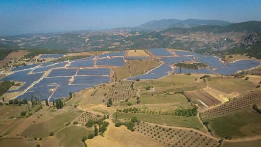 20 MWp PV-Projekt von Asunim in Akhisar/Türkei
