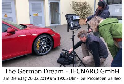 "TV Tipp: ""German Dream"" - TECNARO GmbH"
