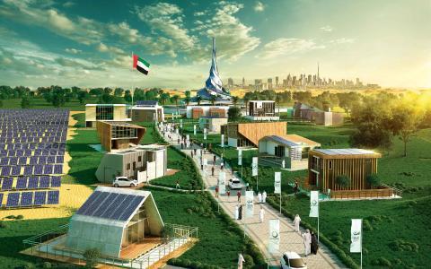 Solar Decathlon Middle East: Das von Studenten konzipierte und auf Nachhaltigkeit ausgerichtete Haus des Teams der New York University Abu Dhabi wird mit HARTING Steckverbindern ausgestattet