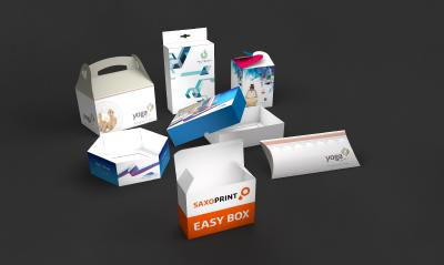 Configure packaging with SAXOPRINT® easy box