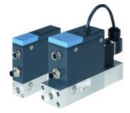 Die MFC/MFM 8742 und 8746 erlauben moderne Durchflussmesstechnik trotz älterer Kommunikationstechnik effizient zu nutzen. (Quelle: Bürkert Fluid Control Systems)