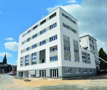 Das PTC in Lüdenscheid: Bauzeit: 2 Jahre; Nutzfläche:1965 m²; Kosten: 5,1 Mio. Euro