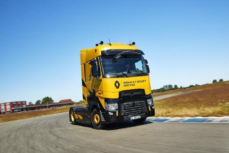 Renault Trucks stellt auf der diesjährigen IAA Nutzfahrzeuge außerdem das limitierte Sondermodell T High Renault Sport Racing vor.