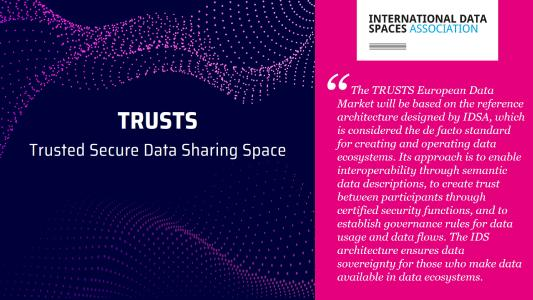 Trusts - Trusted Secure Data Sharing Space
