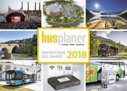 busplaner Innovationspreis 2018: Die Gewinner