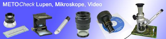 METOCHECK Lupen & Mikroskope