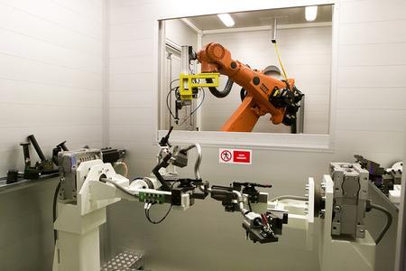 Automatisches Laserschweissen