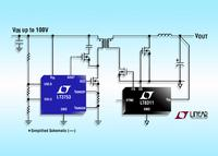 Simple to Use Synchronous Forward Controller Shrinks  25W to 400W Power Supply Footprints