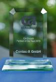 """CA Growth Partner of the Year 2016""-Award für Contec-X (Bildquelle: Contec-X)"