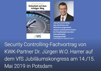 Fachvortrag Dr. Jürgen W.O. Harrer - VfS Jubiläumskongress Potsdam