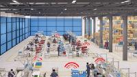 Wireless network solution for digitalised production