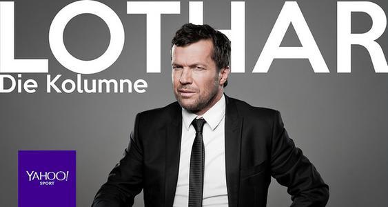 Fußball-Experte Lothar Matthäus schreibt ab sofort für Yahoo Sport