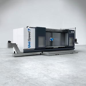 Neue UniSpeed 7 von SHW Werkzeugmaschinen: eine innovative Basismaschine für die Bearbeitung komplexer Werkstücke bis sechs Meter Länge